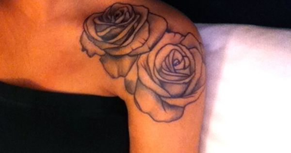 Rose tattoo. Placement