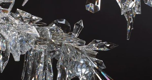 Ice Branch Pendant by Tord Boontje for Swarovski The Blossom in winter.
