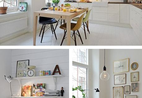 Scandinavian design is a great way of bringing light into your home.