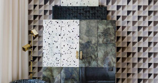 Kwid via ad russia interiors bedrooms pinterest wallpapers deco en patroon - Tegel credenza ...