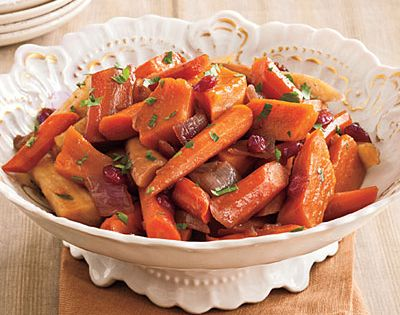 Slow-Cooker Balsamic Root Vegetables Recipes < 83 Best Thanksgiving Side Dish Recipes