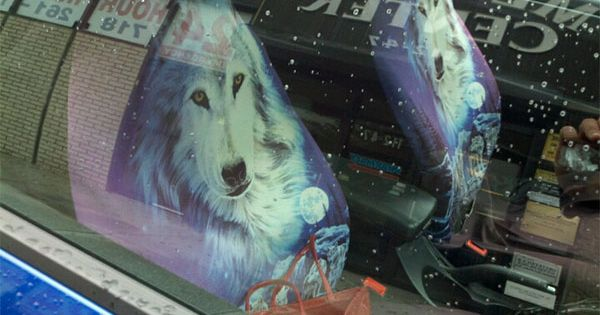 seat cover wolves dreamy wolf car seat covers seat. Black Bedroom Furniture Sets. Home Design Ideas