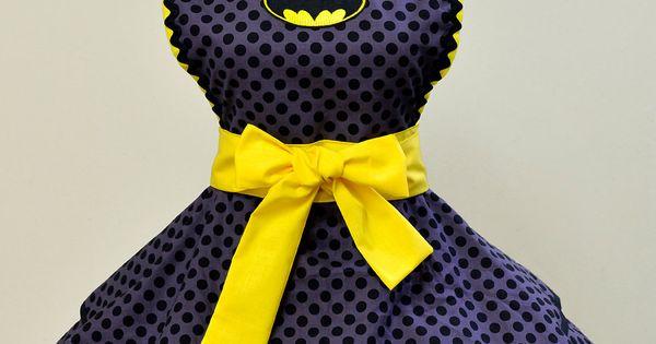 Batman dress! Ahhmazing!