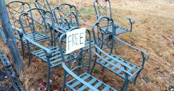Wrought Iron Patio Chairs 0 Craigslist Quot Free Stuff