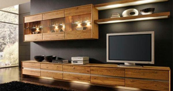 Le meuble en bois l ment qui inspire de la chaleur for Meuble sous tele murale