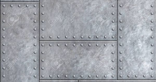 Old Metal Plates With Rivets Seamless Background Or Texture Metal Texture Steel Textures Material Textures