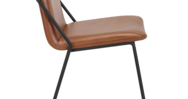 M A D Furniture Sling Side Chair Upholstered Chairs Leather Dining Chairs Dining Chairs