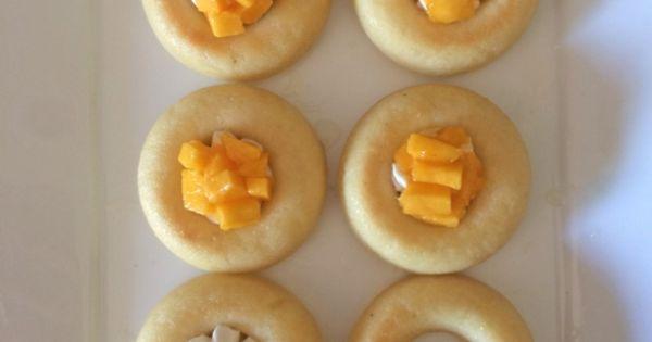 Mini savarins with mangoes | Bouchon Bakery Book Project | Pinterest ...