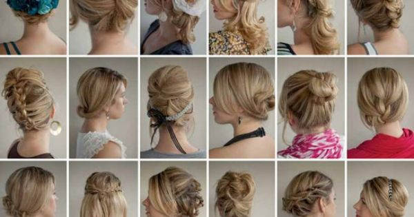 bridesmaid ideas for wedding day updos