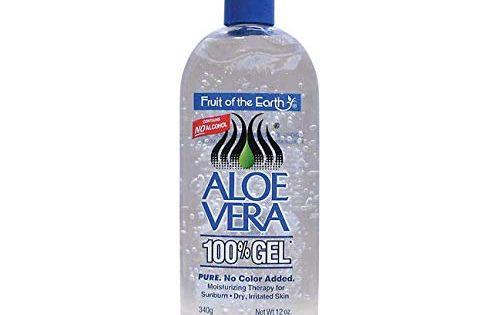 Amazon Com Fruit Of The Earth Aloe Vera 100 Gel 12 Oz After Sun Skin Care Moisturize Organic Aloe Vera Gel Fragrance Free Products Skin Care Moisturizer