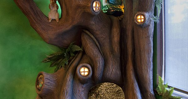 Un arbre merveilleux cr par un p re pour sa fille une - Cree sa chambre ...