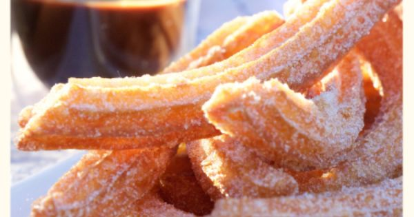 Churros with Quick Nutella Sauce | DESSERTS | Pinterest | Nutella and ...