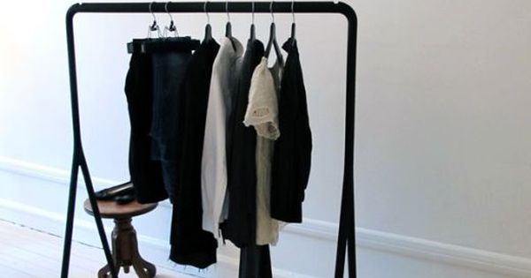 clothes rack from ikea in pinterest dressings idee deco et inspiration. Black Bedroom Furniture Sets. Home Design Ideas