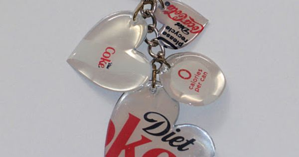 Great way to recycle those soda pop cans by making key chains