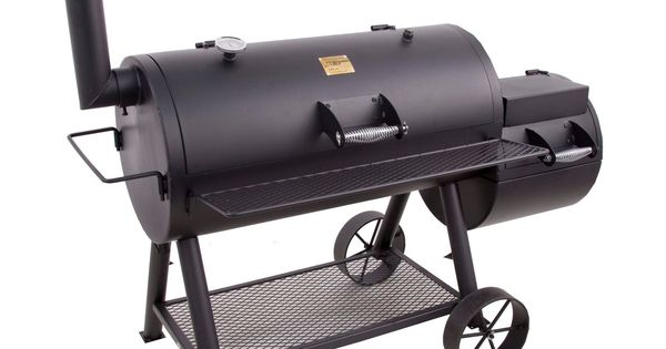 oklahoma joe 39 s longhorn offset smoker and charcoal grill grills i love to grill pinterest. Black Bedroom Furniture Sets. Home Design Ideas