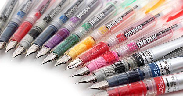 Platinum Preppy Fountain Pen - Black - 02 Extra Fine Nib ...