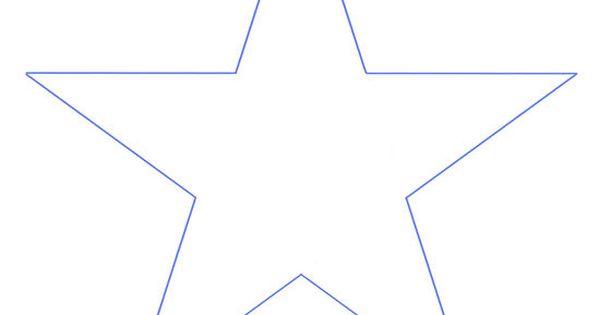 Plantillas de estrella de cinco puntas imagui cumple - Plantilla estrella navidad ...