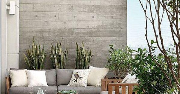 Inspiraci n para decorar terrazas y balcones flores for Decoracion de terrazas con plantas