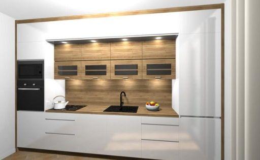 Kuchnia Bialy Polysk 365 Cm Na Wymiar Home Decor Home Decor