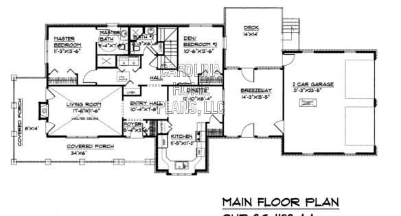 Small brick country house plan sg 1132 sq ft affordable for Ron lee homes floor plans