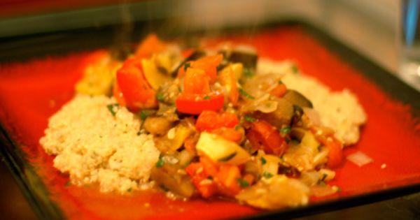 Ratatouille, Quinoa and Salads on Pinterest