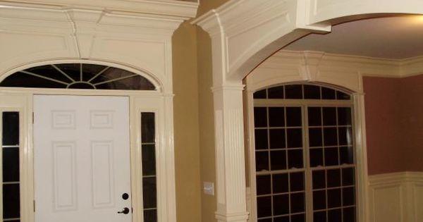 Pediments for eliptical windows pictures of architectural for Unique interior trim ideas