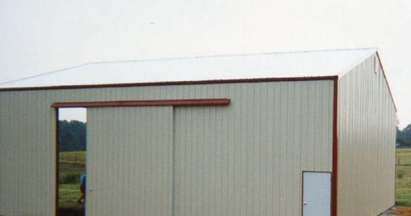 Agri Steel Buildings Metal Buildings Sliding Door Track Steel Buildings