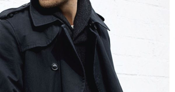 Men. Fashion. Coat.