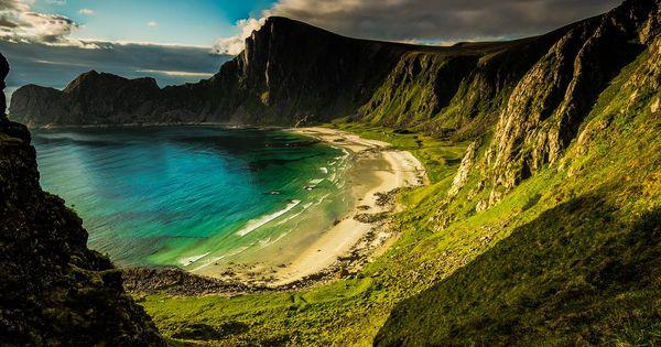 The hidden beach ~ Norway 2014