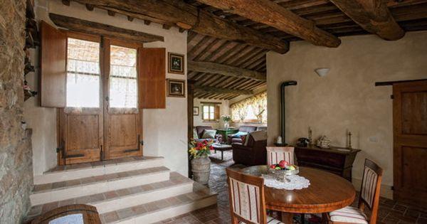 Italien Toskana Pienza Villa Romantica Rustikale Inneneinrichtung Eines Landhauses In Der Toskana Villa Toskana Toskana Villa