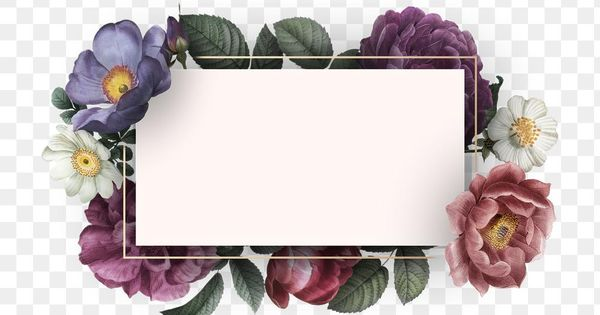 Download Free Png Of Beautiful Hand Drawn Colorful Roses Invitation Card Transparent Png About Flowers W Colorful Roses Floral Border Design How To Draw Hands