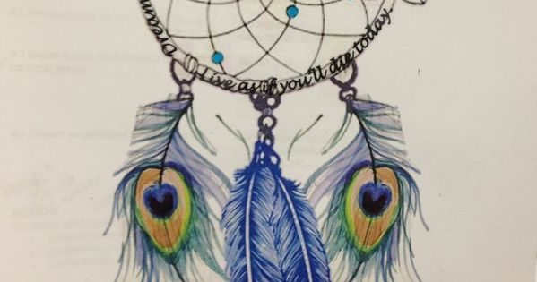 Like The Dream Catcher Part But Idk about the Peacock Feathers- Tattoo