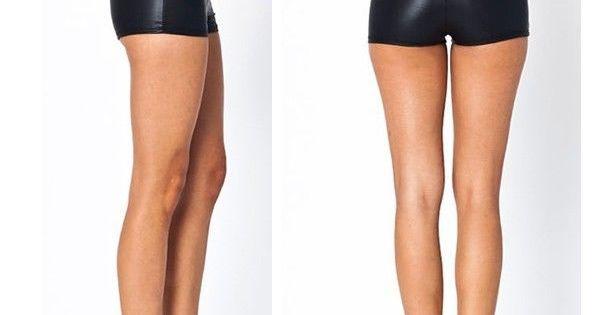heetheadz.com high waisted black leather shorts (01 ...
