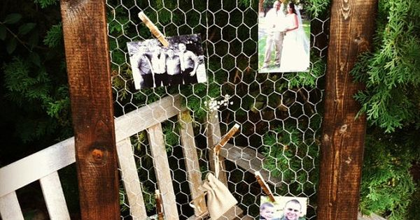 """Chicken Wire Frame 24""""x36"""", Rustic Frame, Picture Frame, Rustic Wedding, Reclaimed Wood,"""