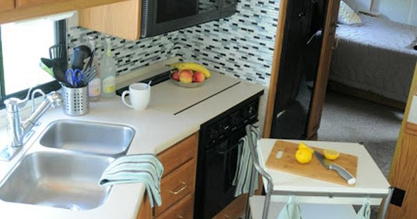 Rv Hack For More Counter Space Get A Movable Kitchen Island If I Had