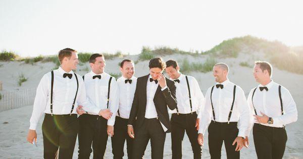 Wedding tie - black tie beach wedding | Kaytee Lauren #wedding