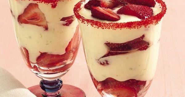 Ягоди с крем от маскарпоне :: Рецепти ...