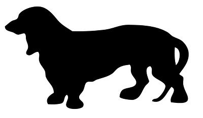 Vintage Images Dachshund Dogs Silhouette Dog Silhouette