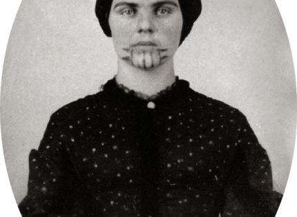 The story of Olive Oatman. Her family was murdered with the exception