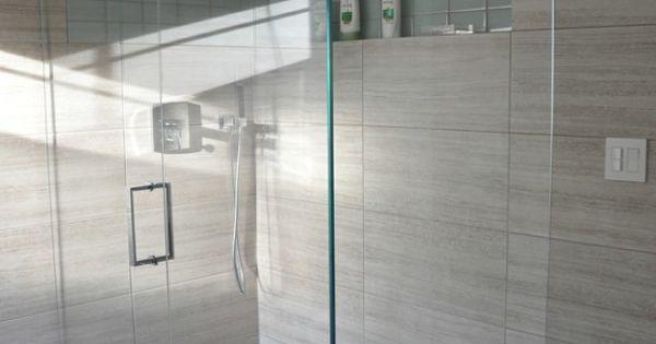 bathroom design 2x2 seta glazed porcelain 12x24 tiles on the floor and walls