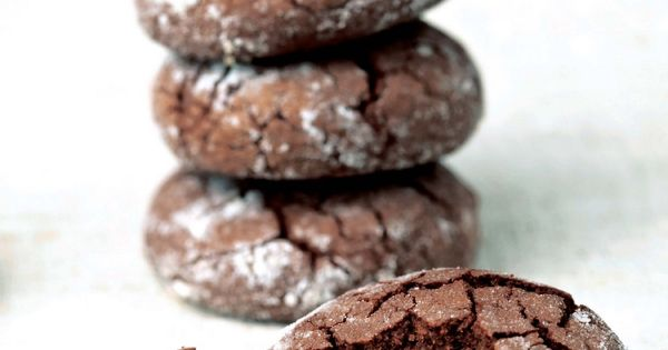 Chocolate crinkles and Chocolate on Pinterest