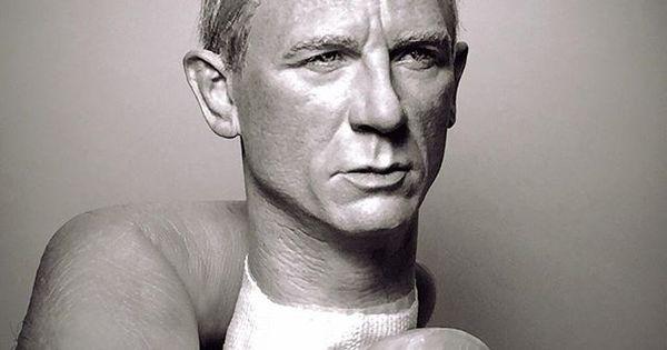 1 6 Scale Custom Art Figure作品集。 Daniel Craig 007 James Bond S P E C T R E Sculptures