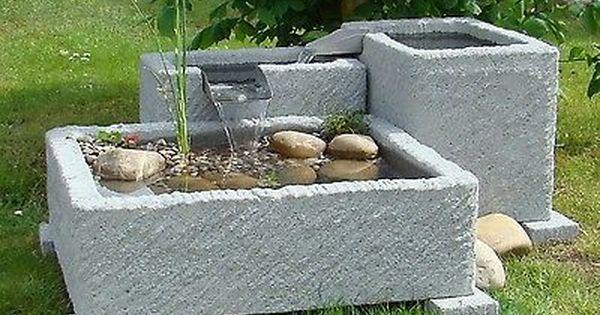 Springbrunnen Brunnen Gartenbrunnen Wasserspiel Granitwerk Stein 262kg Pumpe Ebay Wasserspiel Garten Springbrunnen Garten Wasserbrunnen Garten