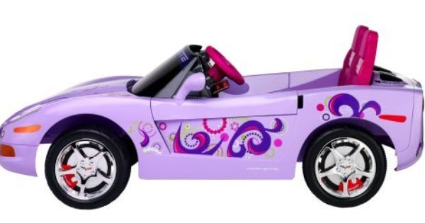 Kid Trax Girls Corvette C6 Electric Ride On Amazon Toys Amp
