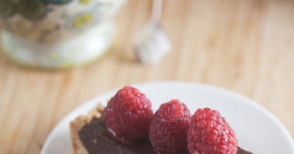 Lavender Dark Chocolate Tart | Recipe | Chocolate Tarts, Tarts and ...