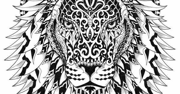lion mandala  tattoos  pinterest  mandala lions and