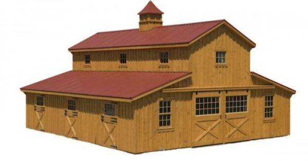 White pine modular barn carriage house barn pinterest for Modular carriage house garage