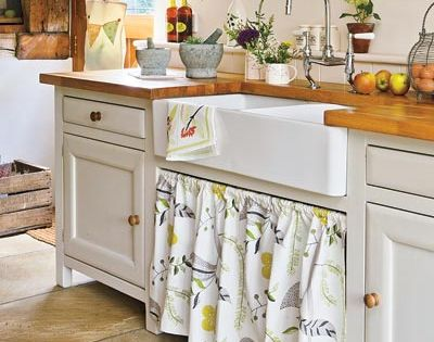 28 Thrifty Ways to Customize Your Kitchen Farm sink, Under sink and ...