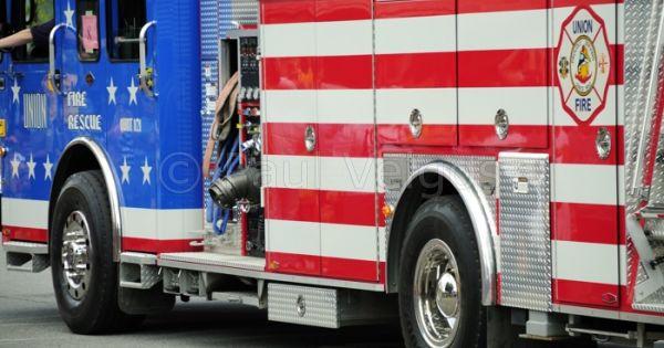 fire truck flag