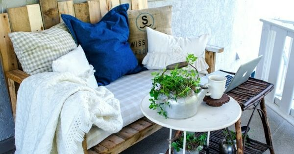 holz paletten m bel balkon sofa selbst bauen m bel aus paletten pinterest outdoor living. Black Bedroom Furniture Sets. Home Design Ideas